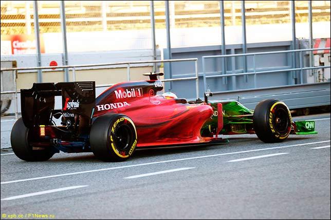 Секрет «радуги» на машине McLaren Honda