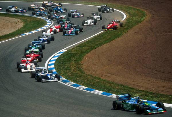 Вспоминая Гран При Испании-1994: Феноменальное выступление Шумахера с заклинившей коробкой передач