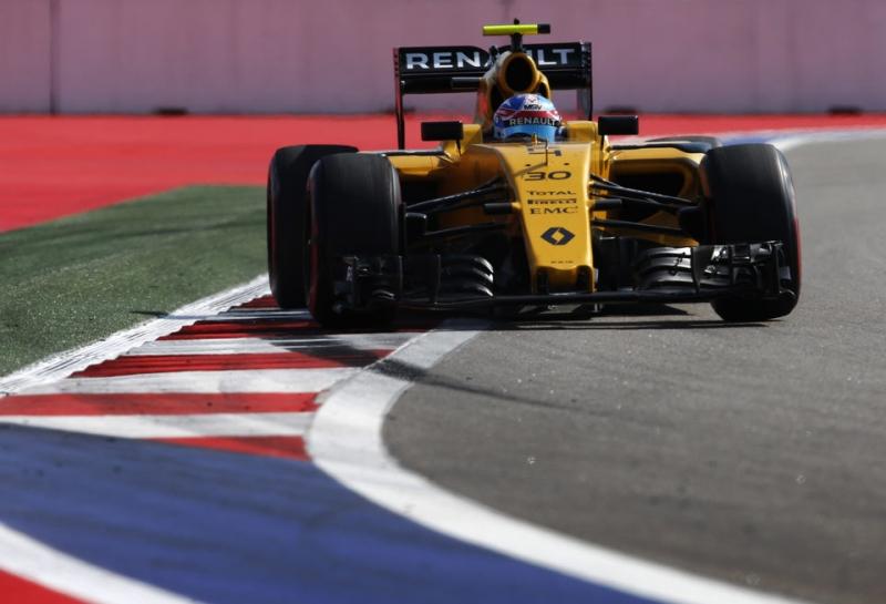 Джолион Палмер испытывает проблемы с шасси RS16