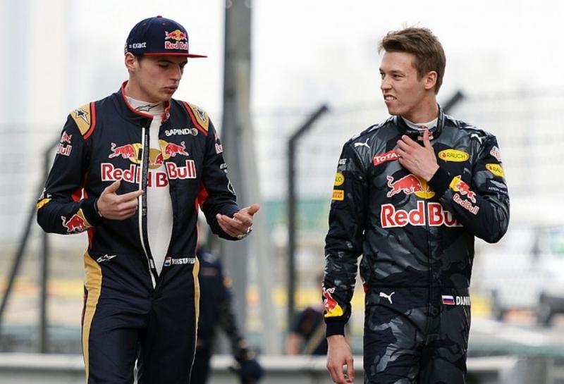 Официально: Макс Ферстаппен заменит Даниила Квята в Red Bull Racing