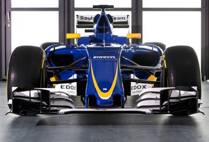 Sauber представила новое шасси C35