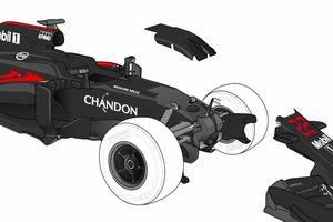 Технический анализ изменений McLaren MP4-31