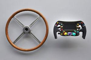 Из чего же… сделаны наши машинки. Эволюция рулевого колеса в Формуле 1