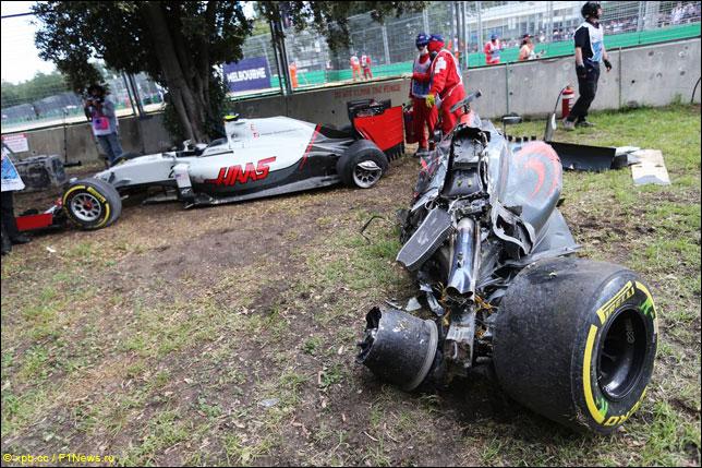 В FIA подробно разобрали аварию Алонсо в Мельбурне
