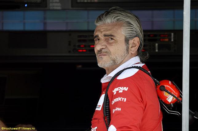 Арривабене: Гонщики Ferrari cделали всё, что в их силах