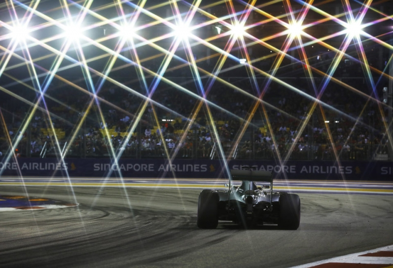 Любопытная статистика Гран При Сингапура