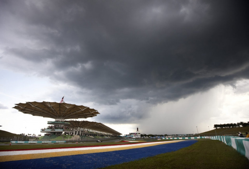Прогноз погоды на Гран При Малайзии остается неопределённым