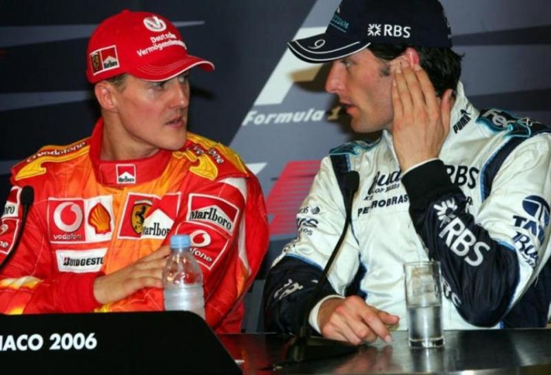 Марк Уэббер: В 2006 году Шумахер сказал мне правду о своих действиях в квалификации ГП Монако