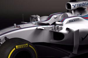 Технический анализ изображений нового шасси Williams FW40