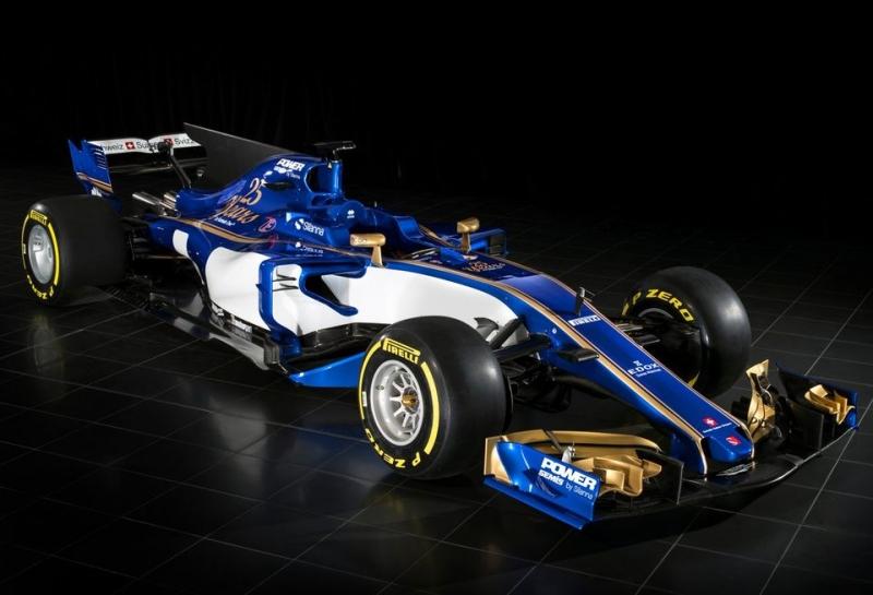 Sauber опубликовала изображение новой машины