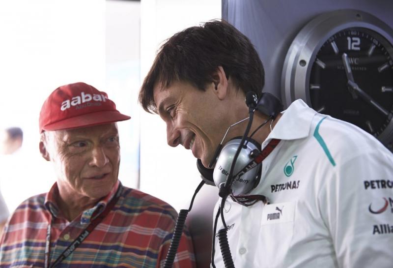 Тото Вольф и Ники Лауда останутся во главе команды Mercedes до конца 2020 года