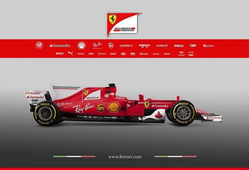 Ferrari представила новую машину SF70-H