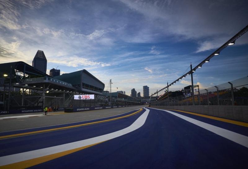 Pirelli опубликовала выбор шин на Гран При Сингапура
