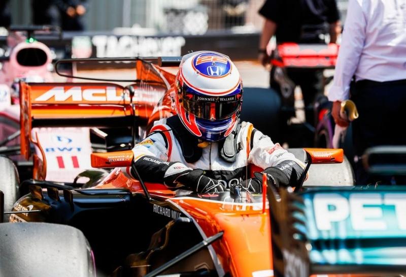 Стартовая решетка Гран При Монако-2017