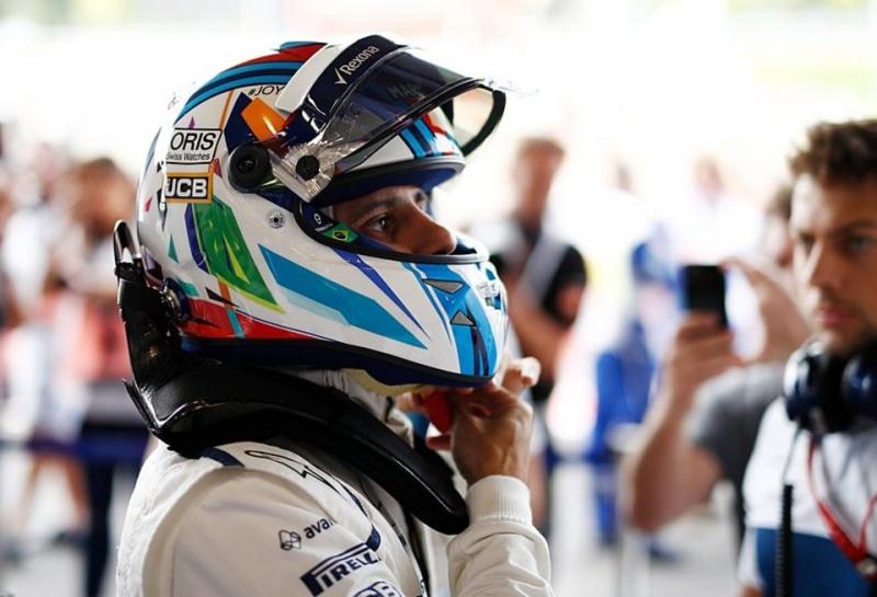 Фелипе Масса потеряет пять мест на старте Гран При Бельгии