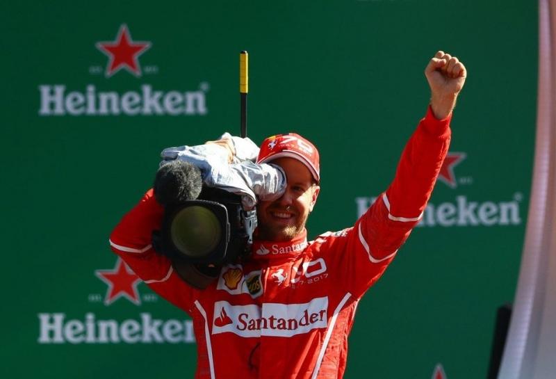 Себастьян Феттель: Я не волнуюсь по поводу отставания от Mercedes
