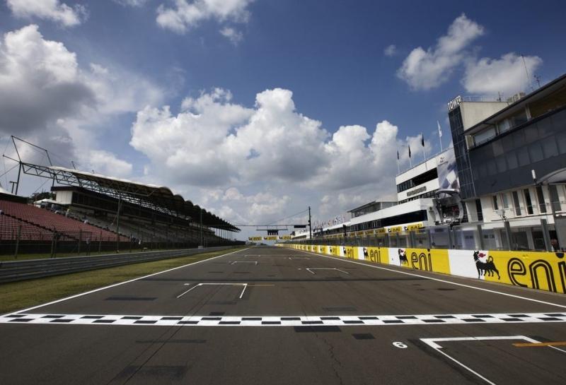 Стартовая решётка Гран При Венгрии
