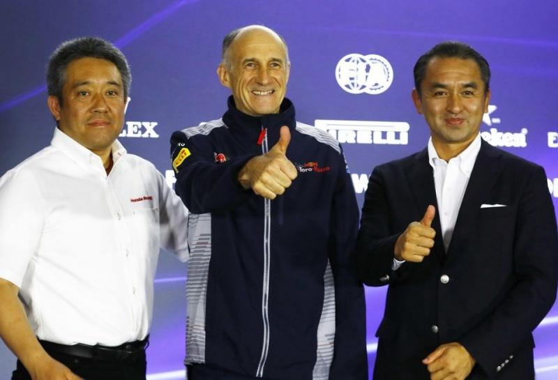 Вместе с Toro Rosso Honda намерена побороться за попадание в первую тройку