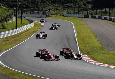 Себастьян Феттель сошел на Гран При Японии