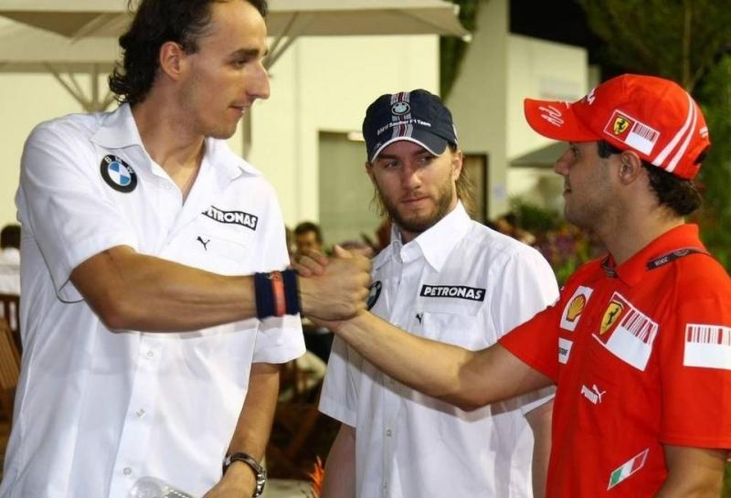 На Гран При Абу-Даби Фелипе Массу заменит Роберт Кубица?