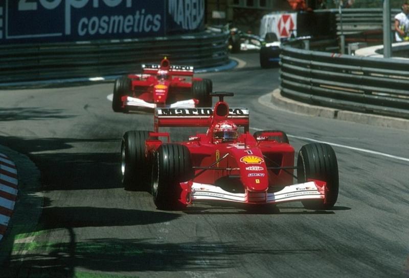 Машина Ferrari F2001 Михаэля Шумахера продана на аукционе за рекордную сумму