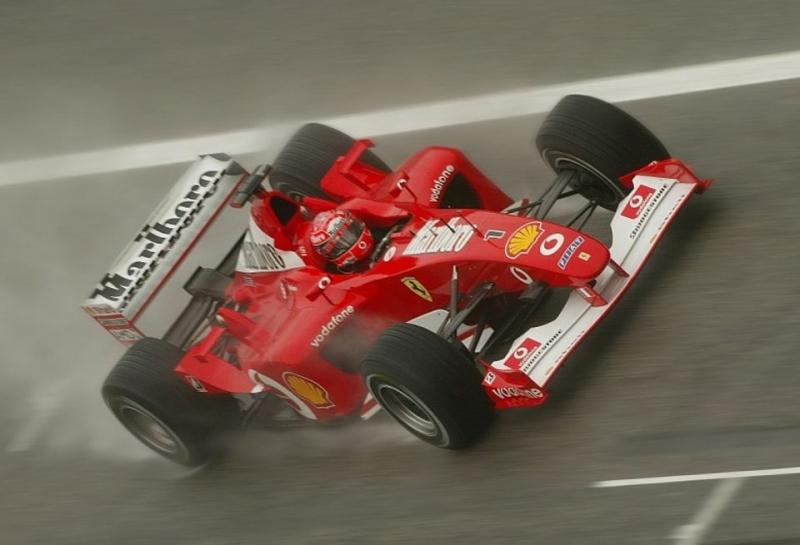 Михаэль Шумахер возглавил список лучших гонщиков Ferrari, Себастьян Феттель — 10-й
