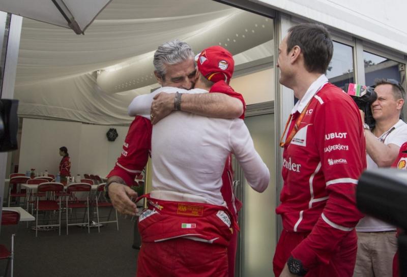 Себастьян Феттель: Я хочу, чтобы Арривабене остался боссом Ferrari