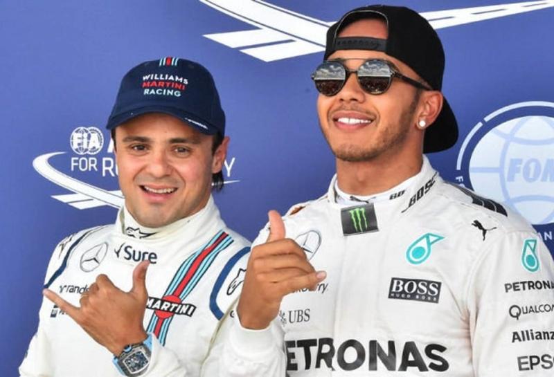 Фелипе Масса: В 2018-м Mercedes сделает ставку на Льюиса Хэмилтона