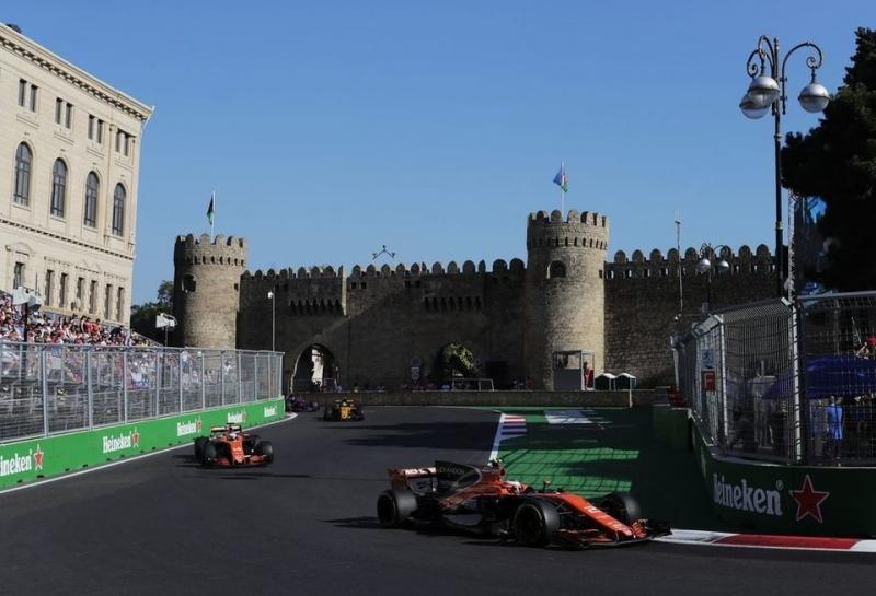Pirelli огласила составы шин на Гран При Азербайджана
