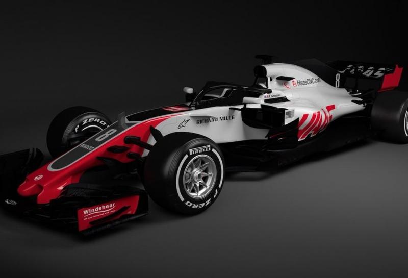 Команда Haas представила новый автомобиль VF18