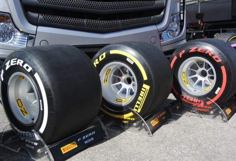 Pirelli опубликовала разницу в скорости между составами шин