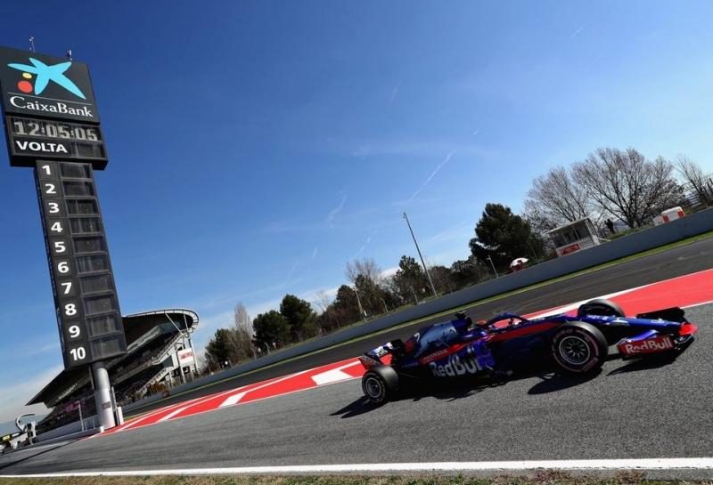 Toro Rosso проехала на одном моторе Honda всю вторую неделю тестов в Барселоне