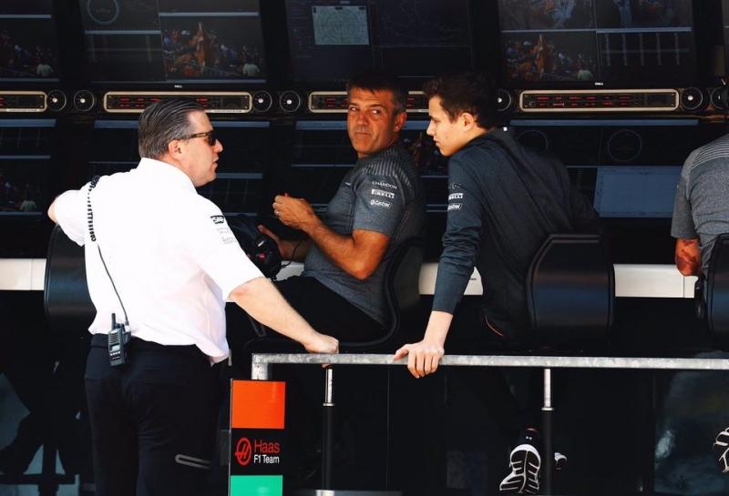 СМИ: В Бразилии McLaren объявит о повышении Ландо Норриса до резервного пилота