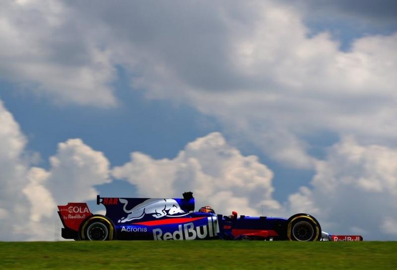 Брендон Хартли: Сложное начало дня и уик-энда в целом для Toro Rosso