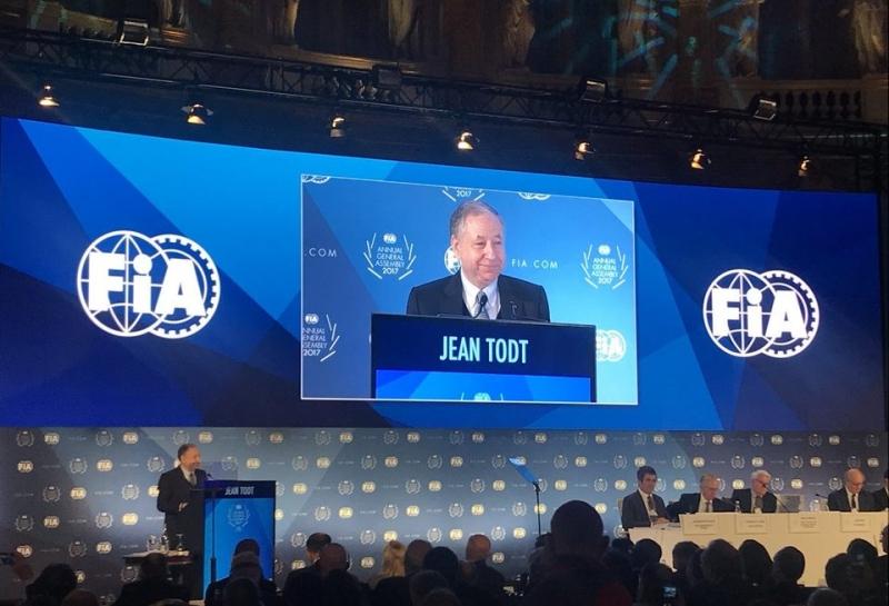 Официально: Жан Тодт переизбран президентом FIA