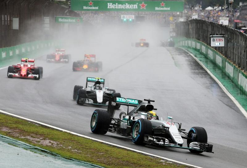 Квалификация Гран При Бразилии может пройти под дождем