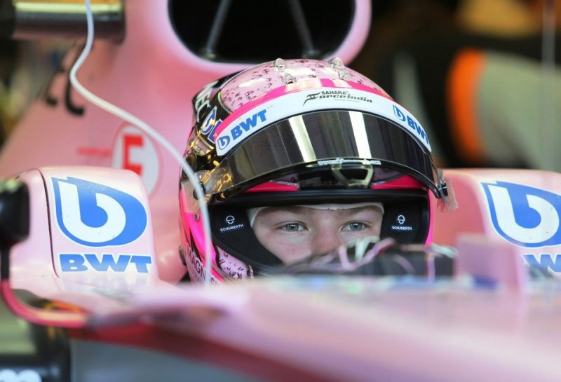 Никита Мазепин выступит за Force India на шинных тестах в Абу-Даби