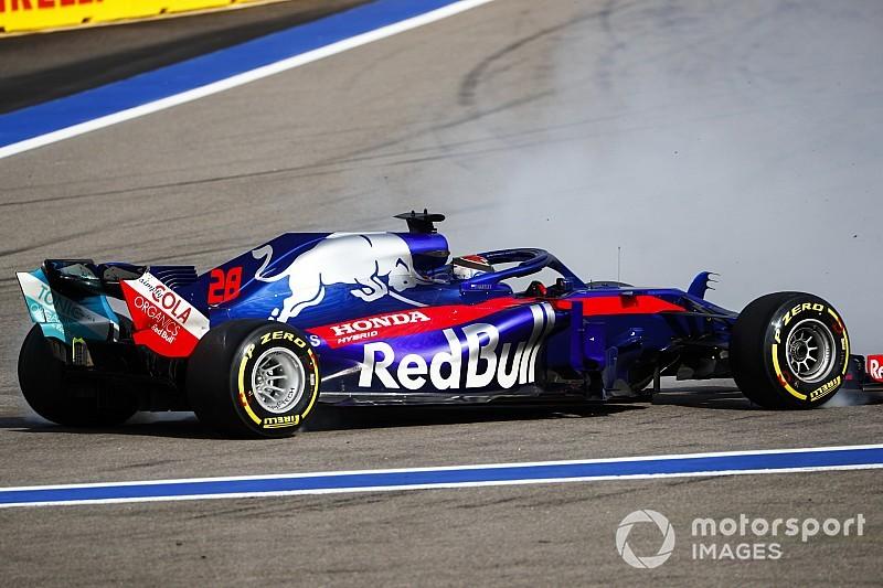 Toro Rosso з'ясувала причини подвійного сходу на початку гонки в Сочі