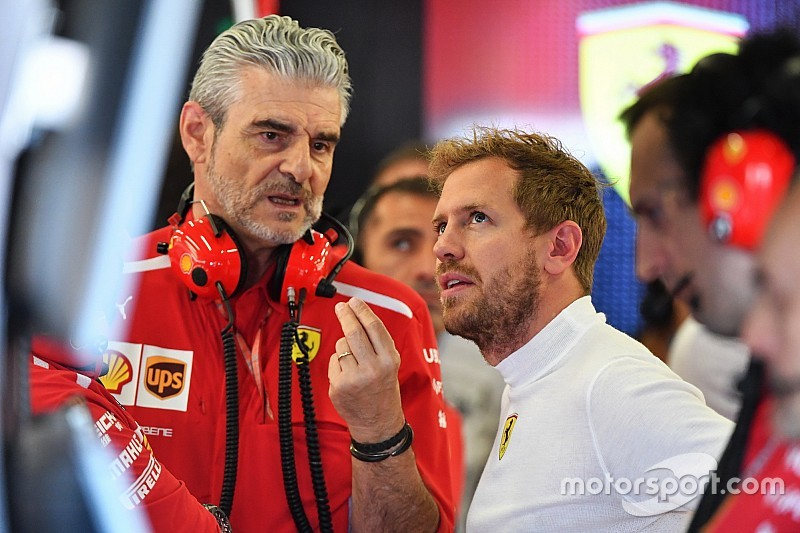 Феттель виграє титул із Ferrari рано чи пізно — Аррівабене