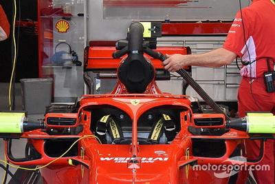 FIA перевірить новий пристрій охолодження Ferrari, що може закривати камеру