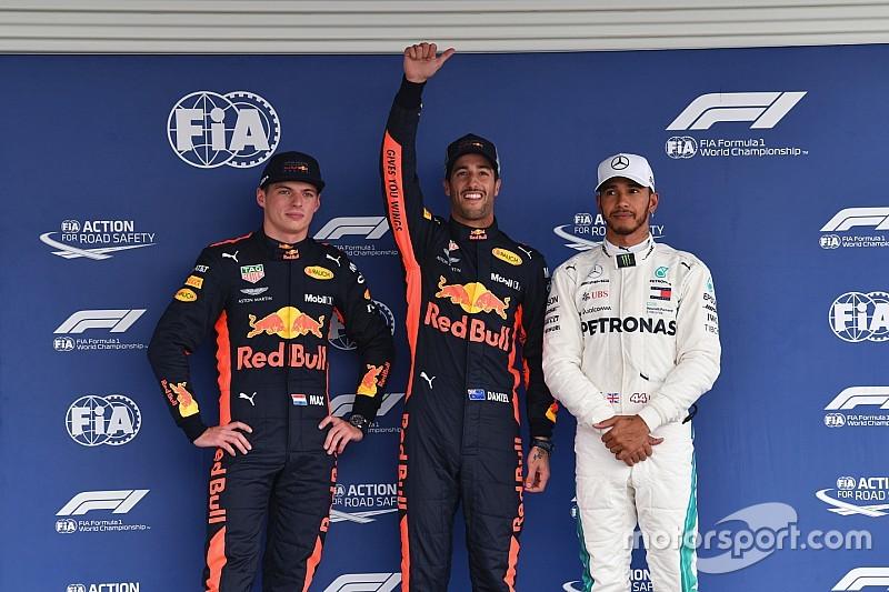 Гран Прі Мексики: Ріккардо не дав Ферстаппену стати наймолодшим володарем поулу в історії Формули 1