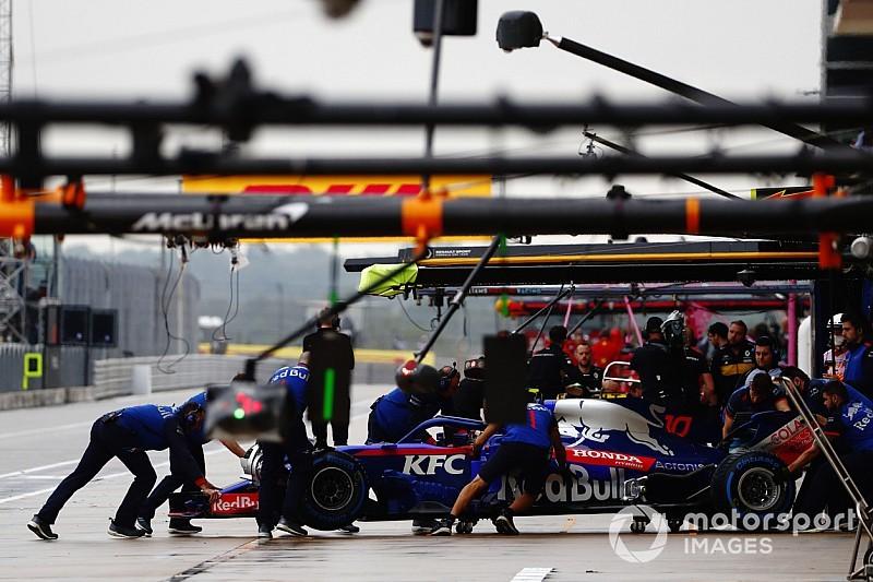 Пілоти Toro Rosso втратять позиції на старті в Остіні через оновлення Honda