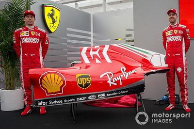 Ferrari показала нову ліврею перед Гран Прі Японії