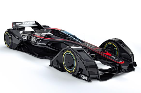 Концепт шасси Ф1 от McLaren — не шутка