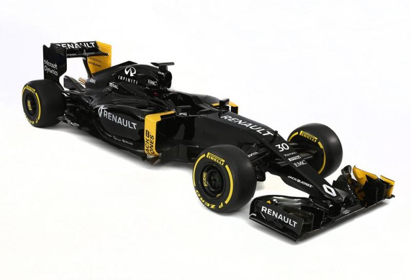 Технические характеристики шасси Renault RS16