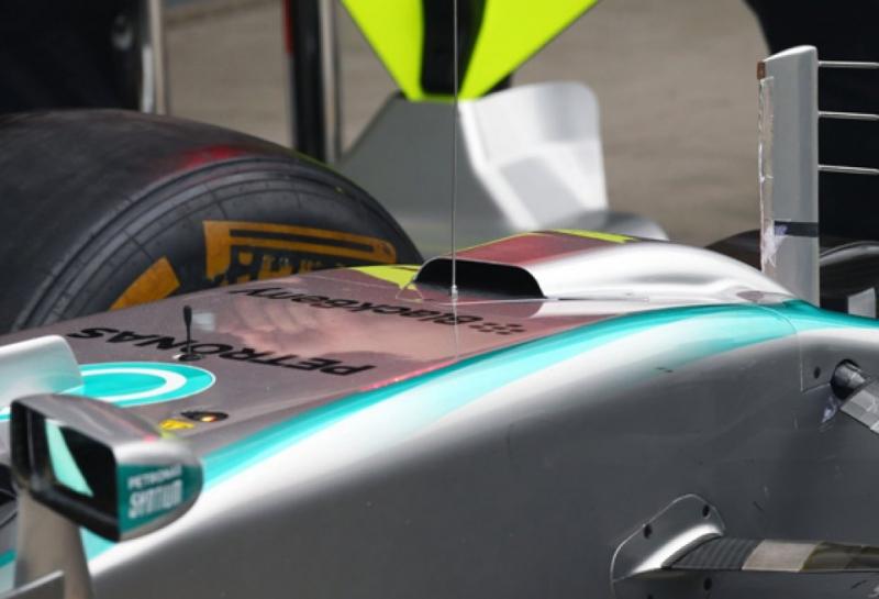 Технические новинки Гран При Бразилии