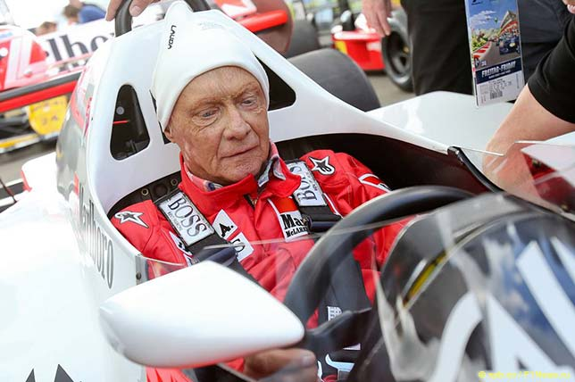 У Ники Лауды нет ни одной из его гоночных машин