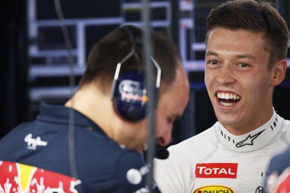 Эксклюзивное интервью с российским пилотом команды Red Bull Даниилом Квятом