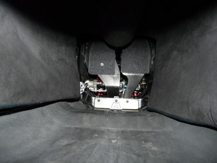 Педали болида F1