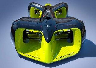 Организаторы гонок беспилотных автомобилей Roborace впервые продемонстрировали дизайн машин